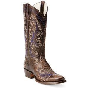 Arait Catalina Square Toe Cowboy boots 7.5B
